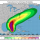 Wind-speed probabilities for Michael.