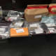 Drugs and other items seized during the search.