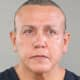 A booking photo of Cesar Sayoc, Jr., from an earlier arrest.