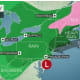 The Nor'easter is bringing strong winds and soaking rains to the area throughout the day Saturday.