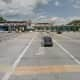 "Will tolls be returning to Connecticut highways? This old toll plaza on I-95 in New Rochelle was abandoned after New York switched to electronic toll ""gantries.""."