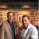 Restaurateur Ted Vincent and Chef David Snyder of Brick Walk Tavern