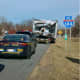 A look at the trailer involved in the crash.
