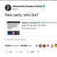 """New party, who dis?' wrote Alexandria Ocasio-Cortez after retweeted Joe Lieberman's comment about her in which he said: ""I certainly hope she's not the future and I don't believe she is,"""