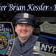 New Rochelle native and NYPD officer Brian Kessler, 28.