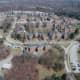 Aerial photo of VA campus