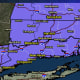 A look at areas where a Winter Weather Advisory is in effect (in purple).