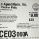 Thousands of pounds of chicken products have been recalled.