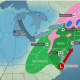 A look at the East Coast that will bring heavy rain to the area and snow to upstate New York and northern New England.