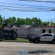 Car Flips Into Pole Wires At Rochelle Park Diner