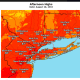 A look at projected high temperatures from throughout the region on Sunday, Aug. 18.