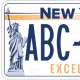 New York State license plates are getting a makeover, and it's up to residents to vote for their favorite design. (Plate 2)