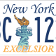 New York State license plates are getting a makeover, and it's up to residents to vote for their favorite design. (Plate 4)