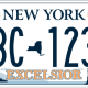 New York State license plates are getting a makeover, and it's up to residents to vote for their favorite design. (Plate 5)