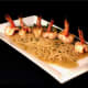 A dish of Shrimp Scampi at Bistro 25 is among many choices on a varied menu.