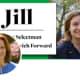 Jill Oberlander, a Democrat defeated in Greenwich