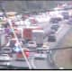 Crash Involving Overturned Truck Causes Afternoon Gridlock On I-87 In Rockland