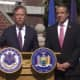 Connecticut Gov. Ned Lamont met with New York Gov. Andrew Cuomo on Wednesday, Sept. 25 in Hartford, CT.