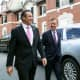 Govs. Andrew Cuomo of New York and Ned Lamont of Connecticut met again on Wednesday, Sept. 25.