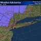 A Winter Weather Advisory has been issued for the counties shown in purple, including Dutchess, Orange, Sullivan and Ulster.