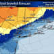 Here Are Latest Projected Snowfall Totals For Nor'easter That Will Slam Area