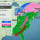 Eye On The Storms: Separate Systems Will Move Through, With Second Bringing Wintry Mix, Snow