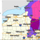 A look at areas where Winter Storm warnings, watches and advisories are in effect.