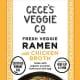 Veggie Noodle Co., LLC is voluntarily recalling its Cece's Veggie Co. brand Fresh Veggie Ramen with Chicken Broth that was sold nationwide.
