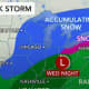 Midweek Storm Will Bring Mix Of Rain, Sleet, Snow To Region