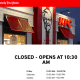 KFC's Neptune City franchise is closed for good but still lists its hours on its website.