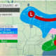 A look at the first storm scenario.