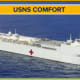 The United States Navy hospital ship Comfort.