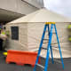 "Monmouth County EMS has set up ""surge tents"" to help screen patients arriving at CentraState Medical Center in Freehold and Jersey Shore University Medical Center in Neptune City."