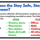 """A look at what the """"Stay Safe, Stay Home"""" policy means."""