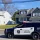 Hamilton police arriving at Quinn's house.