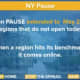 Some regions in New York will stay paused through May 28.