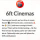 6ft Cinemas