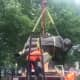 Christopher Columbus Statue Topples In Trenton