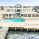 """Joe Pesci's $6.5 million bayfront mansion in Ocean County has a """"standard"""" 125-foot dock, the Hollywood movie star says."""