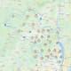 Orange & Rockland outage map on Monday, Aug. 10.