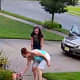SEEN THEM? Two women captured on video stealing a child's fairy house lawn ornaments from a yard in Egg Harbor Township.
