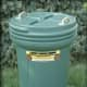 Officials have recommended using bear-resistant trash barrels.