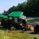 NJ Department of Transportation tractor in Marlboro collision.