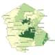 The breakdown of COVID-19 cases in Sullivan County (darker areas represent more cases) on Friday, Nov. 13.