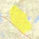 The Orange County COVID-19 cluster zone.