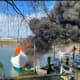 Blaze Breaks Out On 38-Foot Cabin Cruiser In Stamford
