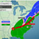 New Potent Storm System Will Bring Rain Throughout Area, Snow To Parts Of Region
