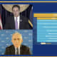 Dr. Anthony Fauci was a guest via video during Gov. Andrew Cuomo's latest COVID-19 briefing.