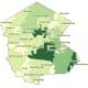 The breakdown of COVID-19 cases in Sullivan County (darker areas represent more cases) on Friday, Dec. 11.