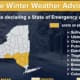 States of Emergency are expected to be declared in some Hudson Valley counties this afternoon.